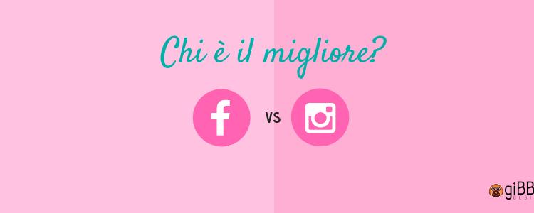 Facebook contro Instagram