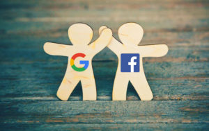 Facebook e Google amici